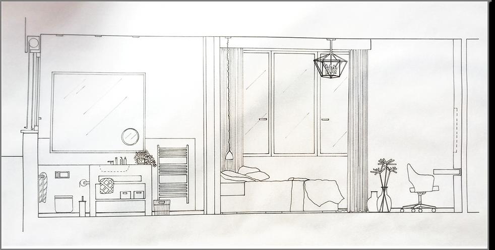 Master Bedroom Bathroom detail drawings