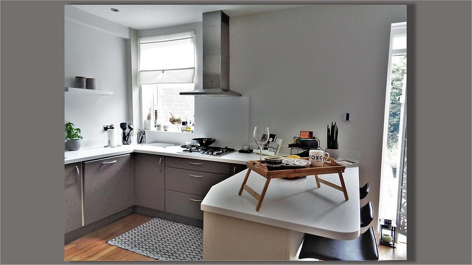 Kitchen view - Upminster Interior Design