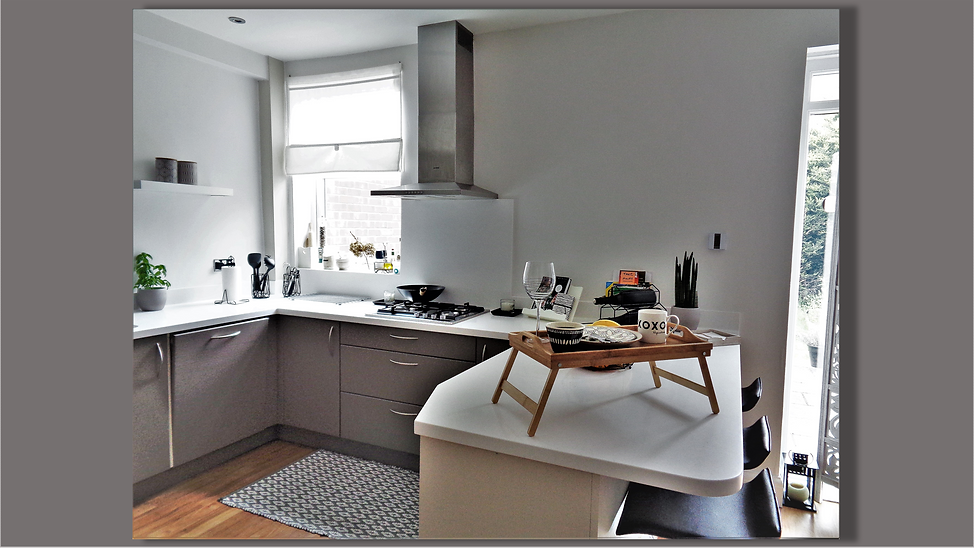 Kitchen view - Upminster Interior Design