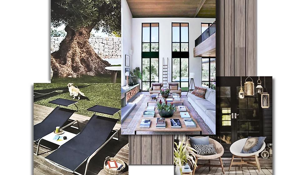 Concept Board Spanish Villa