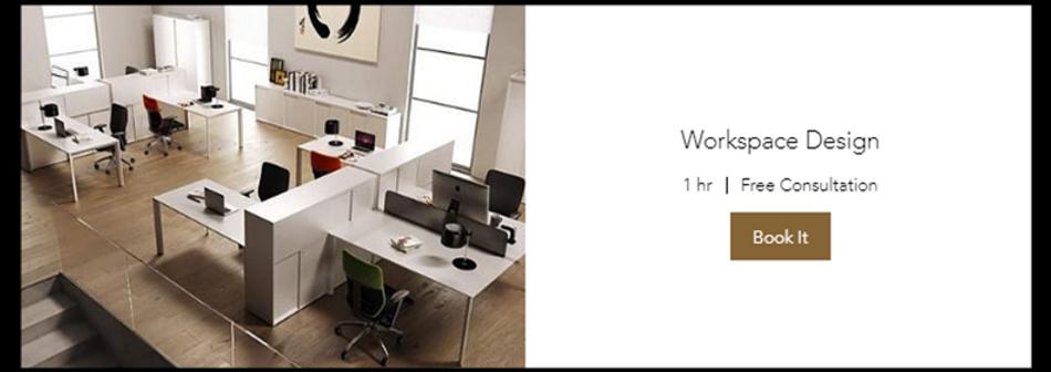 Workspace Design (Book 1h Free Consultation)