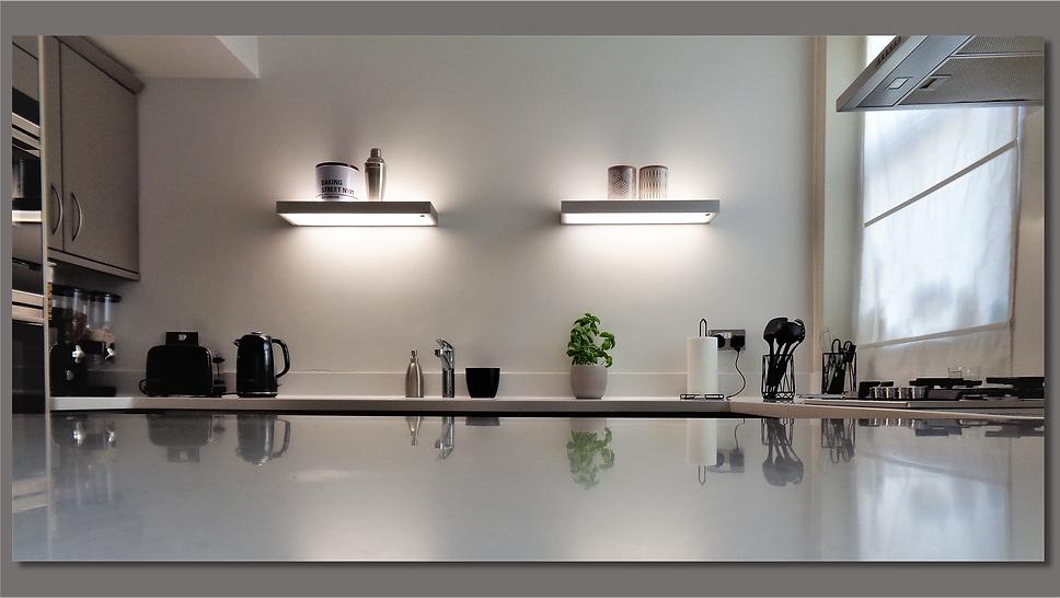 Kitchen view -Upminster Interior Design
