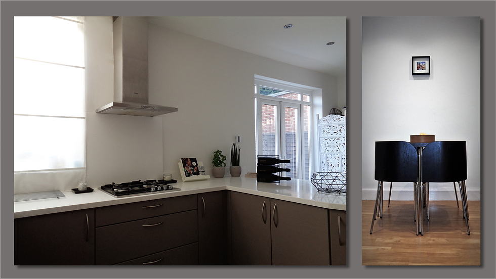 Kitchen view - Diner (Upminster Interior Design)