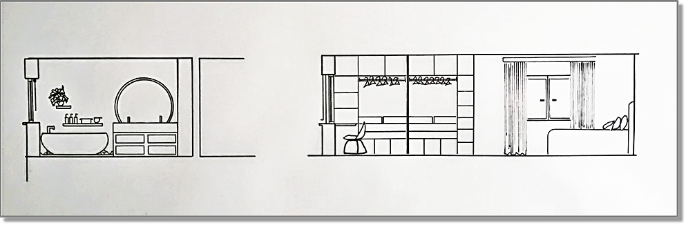 Bedroom-Ensuite Detail Drawing