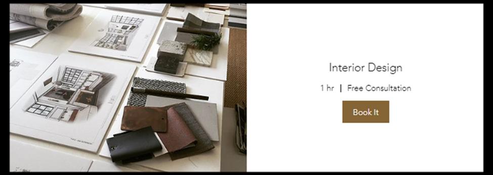 Interior Design (Book 1h Free Consultation)