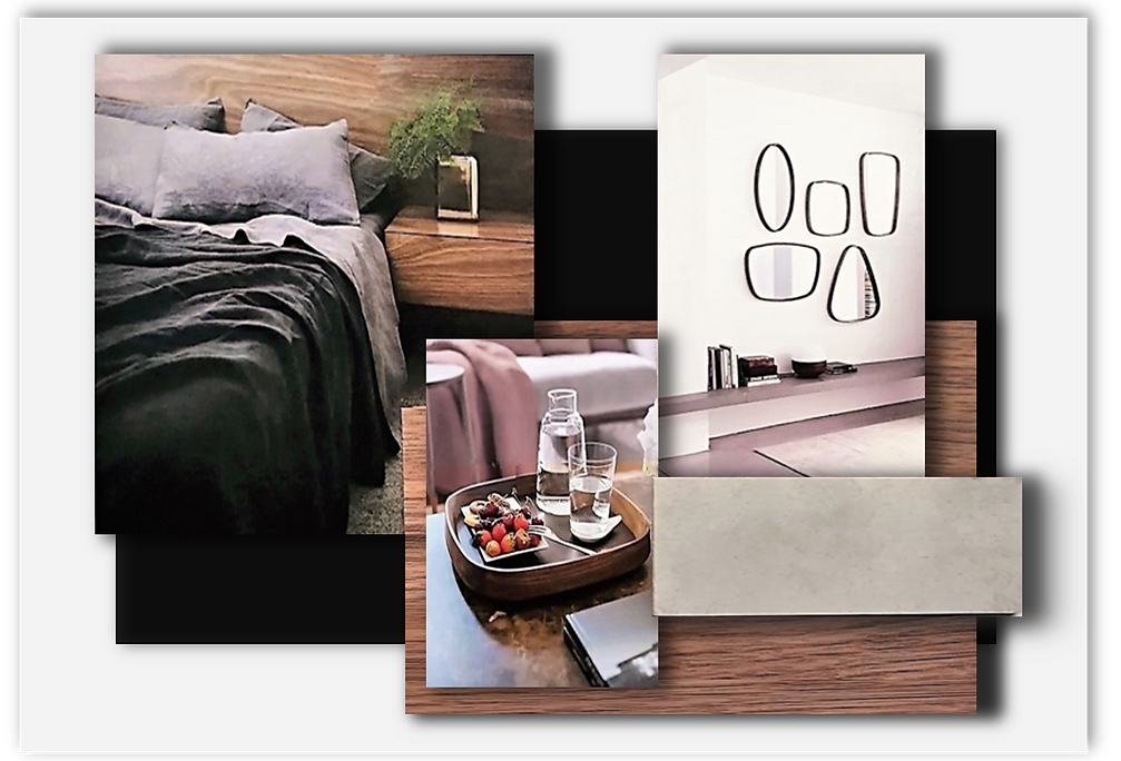 Master Bedroom sample board