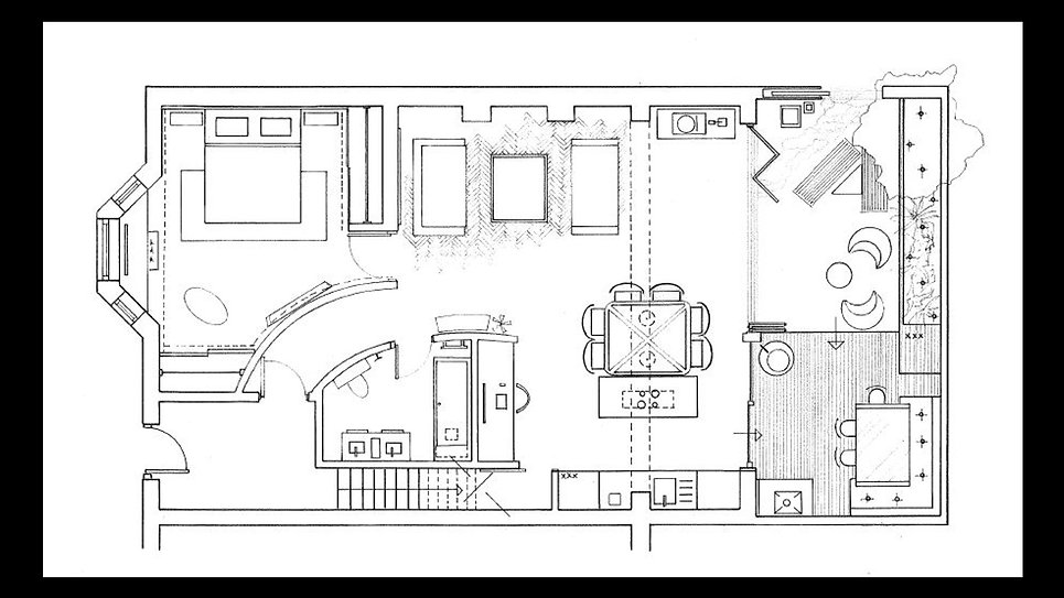 Final plan designed by Decozar Interiors