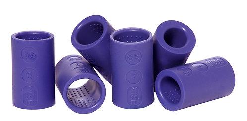 VISE - Ovals with Nubbins - Purple Grip