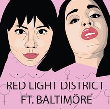 Pink Wasabi - Red Light District Ft. BALTIMORE