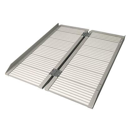 Bi-Fold Portable Aluminium Ramp (2, 4, 6ft)