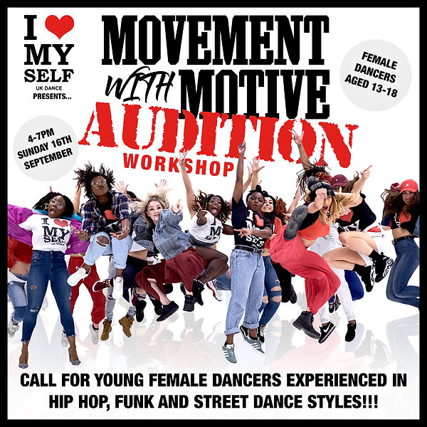 Movement With Motive Audition Instagram.