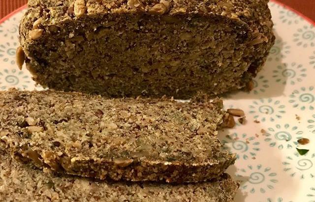 Gluten & yeast-free seed bread