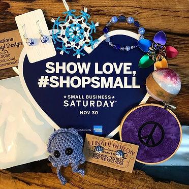 November 30th is Shop Small Saturday! Ma