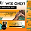 Thumbnail: Orange Wix Premade Website Design