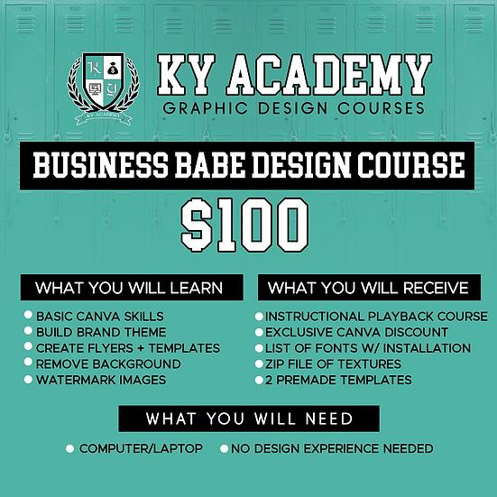 Business Babe Design Course