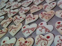 Coeurs collection pain d'épices