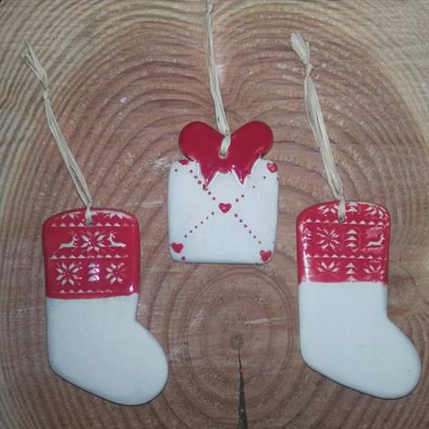 Cadeau et Chaussette de Noël