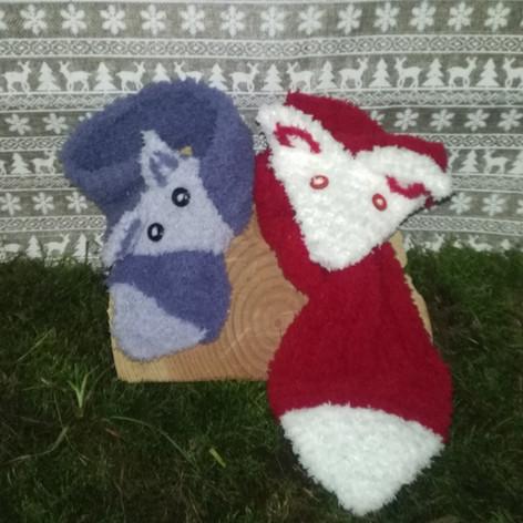 Petit Loup et Mini Loup tout doux