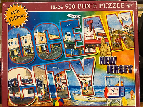 Ocean City Puzzle - 14th Edition