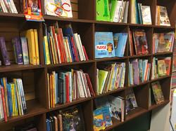 Children's hardcover wall