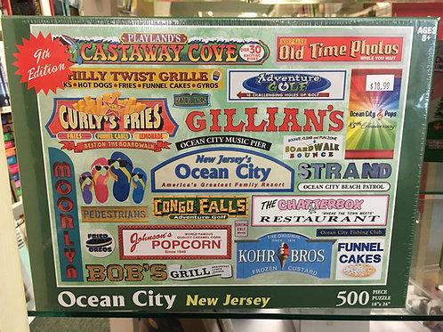 Ocean City Puzzle - 9th Edition