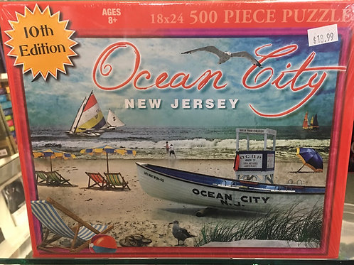 Ocean City Puzzle - 10th Edition