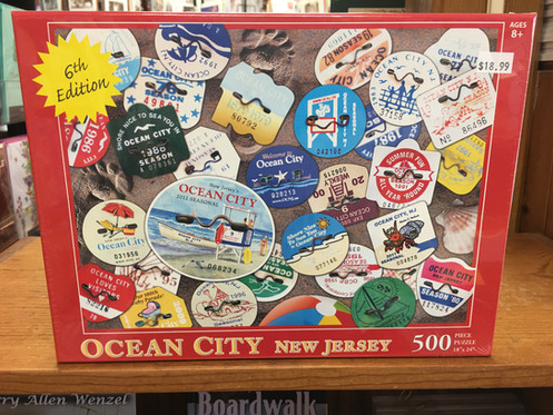 Ocean City Puzzle - 6th Edition