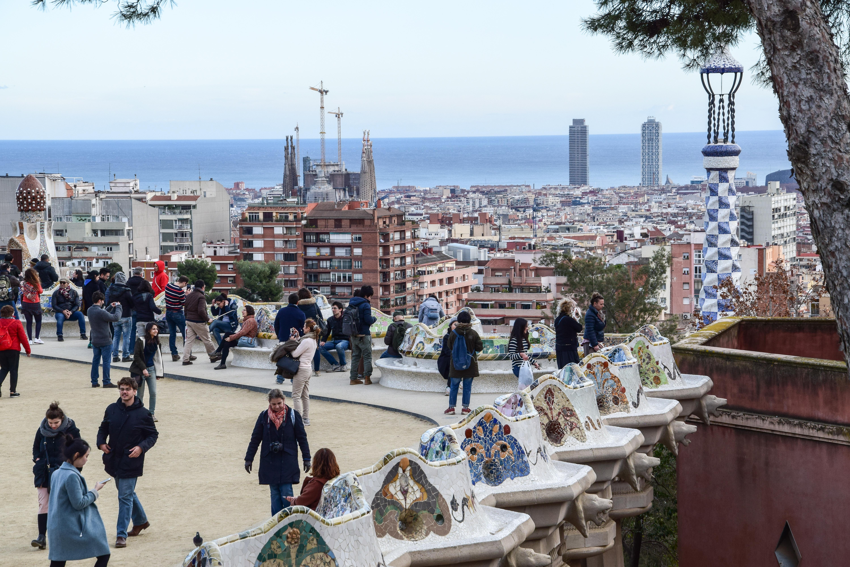 Park Gaudi, Barcelone, 2016