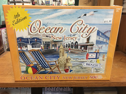 Ocean City Puzzle - 4th Edition