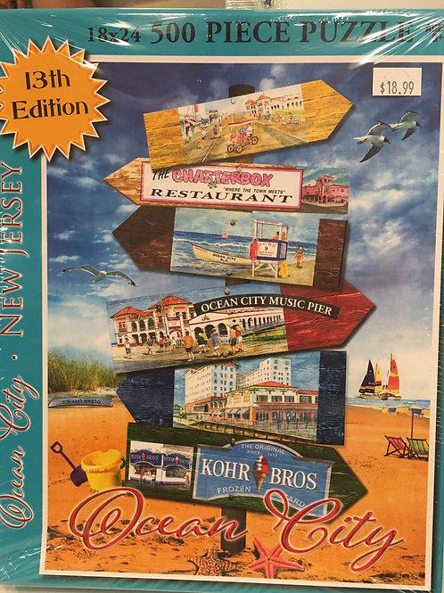 Ocean City Puzzle - 13th Edition