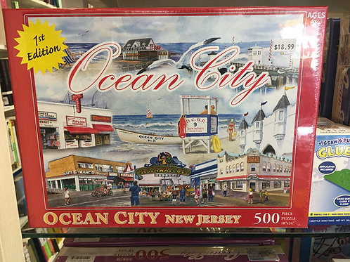 Ocean City Puzzle - 1st Edition