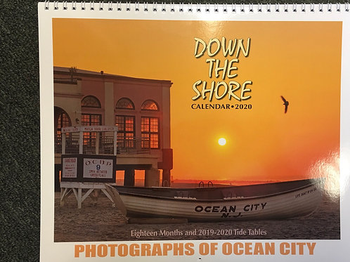 """Down the Shore"" 2020 wall calendar - Ocean City Edition"