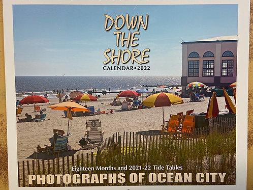 """""""Down the Shore"""" 2022 wall calendar - Ocean City Edition"""