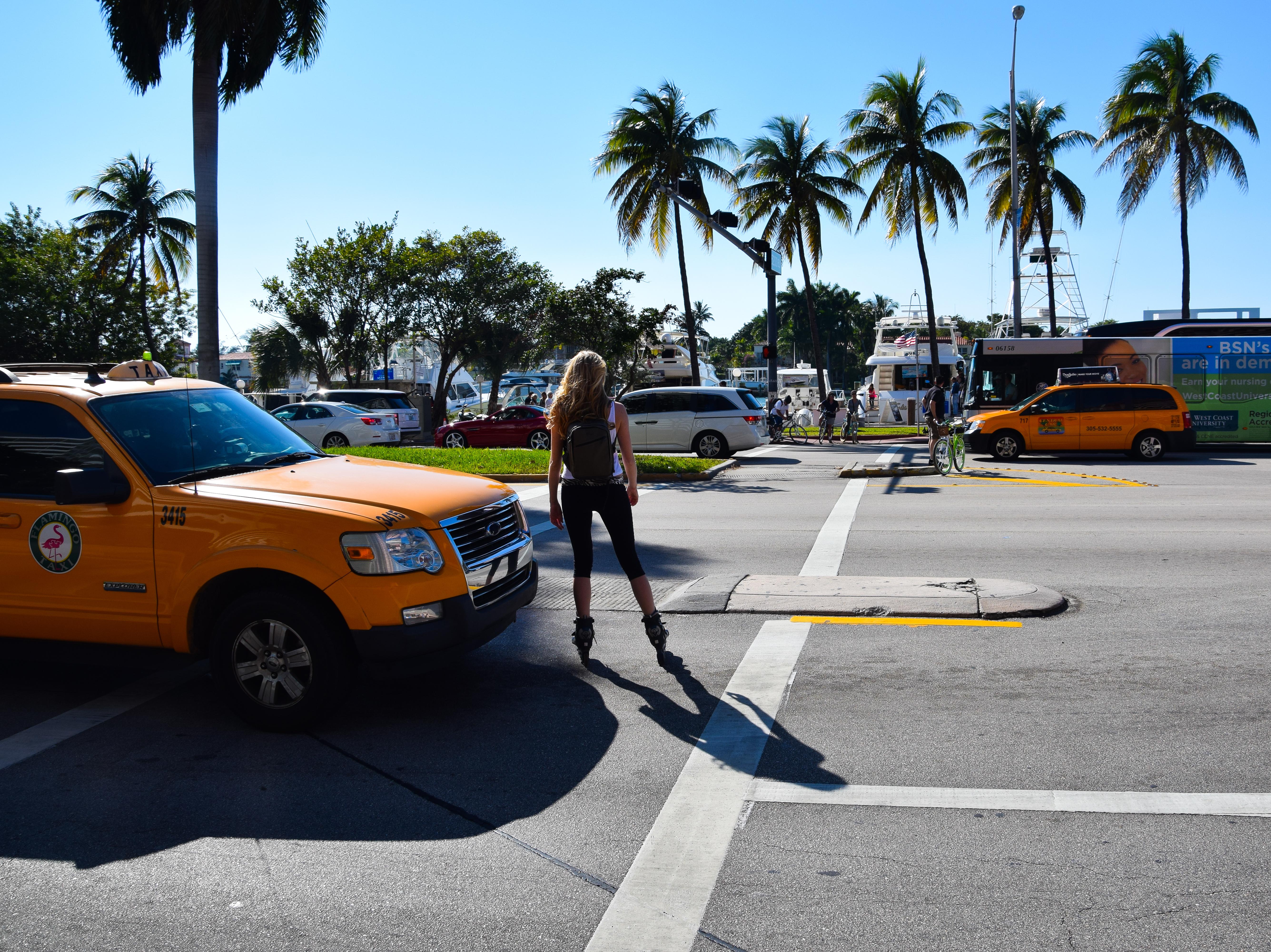 Blondy in Miami Beach