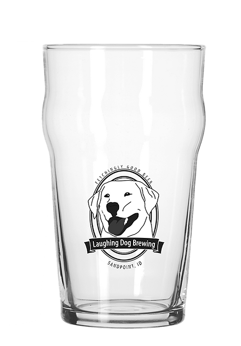 Benny Logo 10oz Nonic Glass
