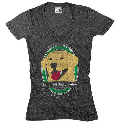 Benny Logo V-Neck T-Shirt