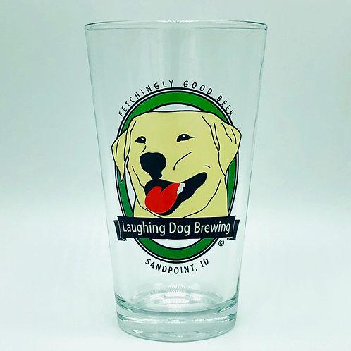 Benny Logo Pint Glass - Color Logo