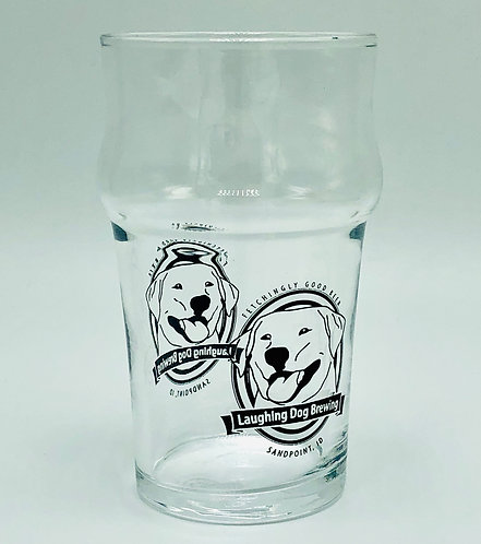 Benny Logo 10oz Nonic Glass