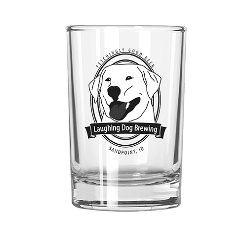 Benny Logo 4oz Taster Glass