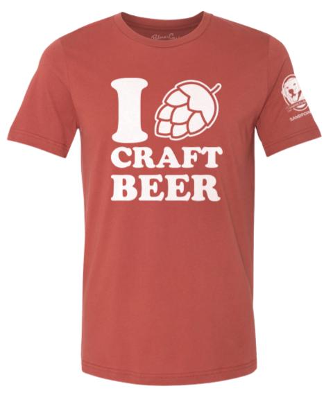 """""""I Love Craft Beer"""" Crew Neck"""