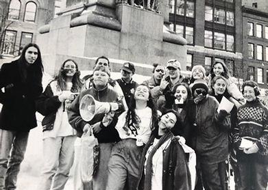 Student AIDS Activitsts VD 1995.jpg
