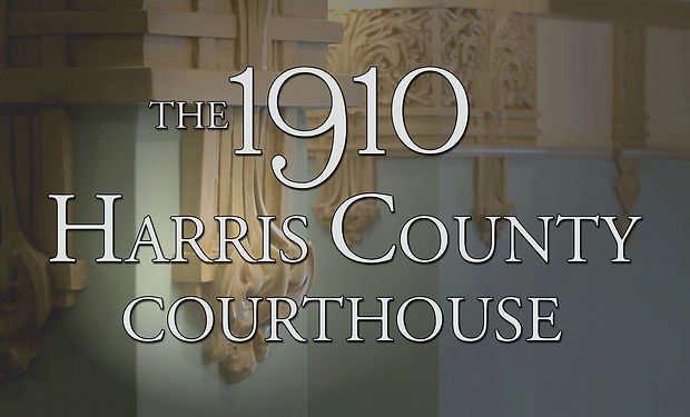 1910 Harris County Courthouse - Title Sc