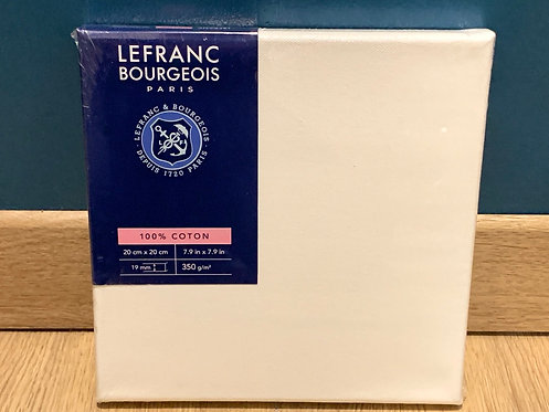 CHASSIS LEFRANC BOURGEOIS COTON 350G 20X20CM