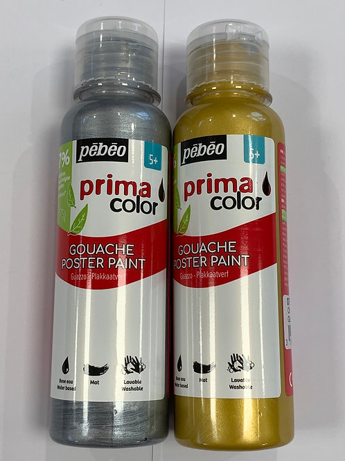 PRIMACOLOR 150ML PEBEO OR ARGENT