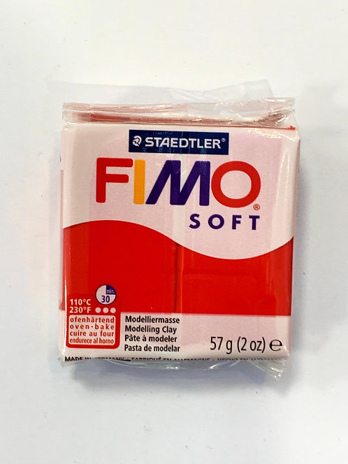 FIMO SOFT 57G ROUGE INDIEN