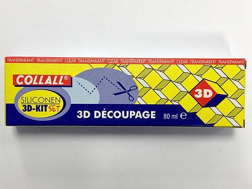 COLLE SILICONE TECHNIQUE 3D 80ML