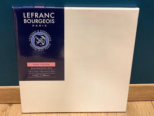 CHASSIS LEFRANC BOURGEOIS COTON 350G 40X40CM