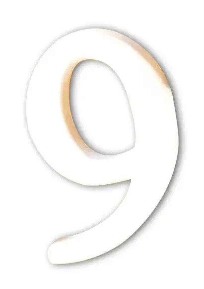 CHIFFRE 9 CARTON 12X1.5X8CM