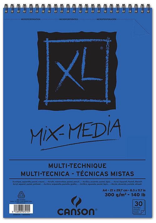 ALBUM XL 30 FEUIL. A4 CANSON MIX MEDIA 300G