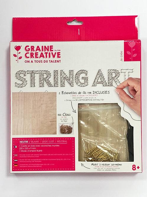 TABLEAU NEUTRE STRING ART